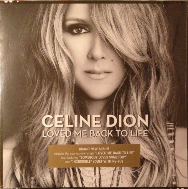 CÉLINE DION - LOVED ME BACK TO LIFE / ALBUM 2 VINYLES 33T 2LP NEUF SOUS BLISTER