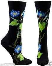 Morning Glory Trouser Crew Socks Black BG NWT Women's Sock Size 9-11 OZONE