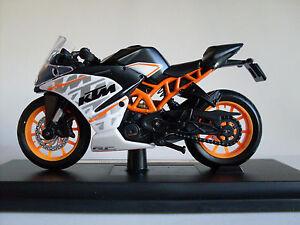 Maisto 1 18 Ktm Rc 390 Motorcycle Bike Diecast Model Toy New In Box