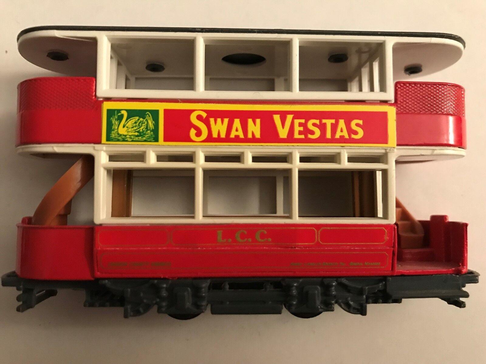 Selten, yy-15 straßenbahn  schwan vesta  lcc, london countu  - schriftzug, moy, der profi, keine kiste