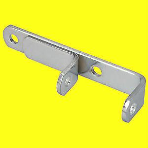 Sbc Small Block Chevy Chrome Lower Header Alternator Bracket Short Water Pump