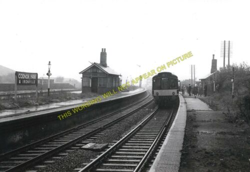 2 Codnor Park /& Ironville Railway Station Photo Pye Bridge. Langley Mill