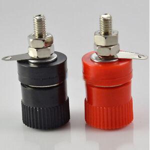 2pcs-Amplifier-Terminal-Binding-Post-Banana-Plug-Jack-Panel-mount-Lager-Size-CF