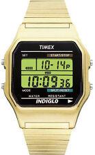 Timex T78677, Men's Digital Goldtone Expansion Watch, Alarm, Indiglo, T786779J