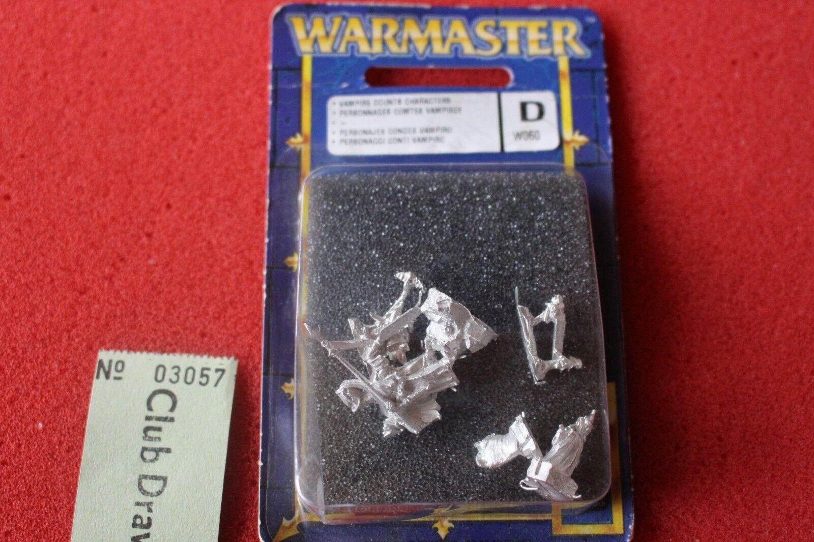 Games Workshop Warmaster Warmaster Warmaster Condes Vampiro caracteres 10mm Nuevo Y En Caja Nuevo No-muertos escaso  el mas reciente