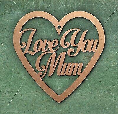 Personalizzata Madre Giorno Regalo Cuore Tag Mum Mummia-mostra Il Titolo Originale