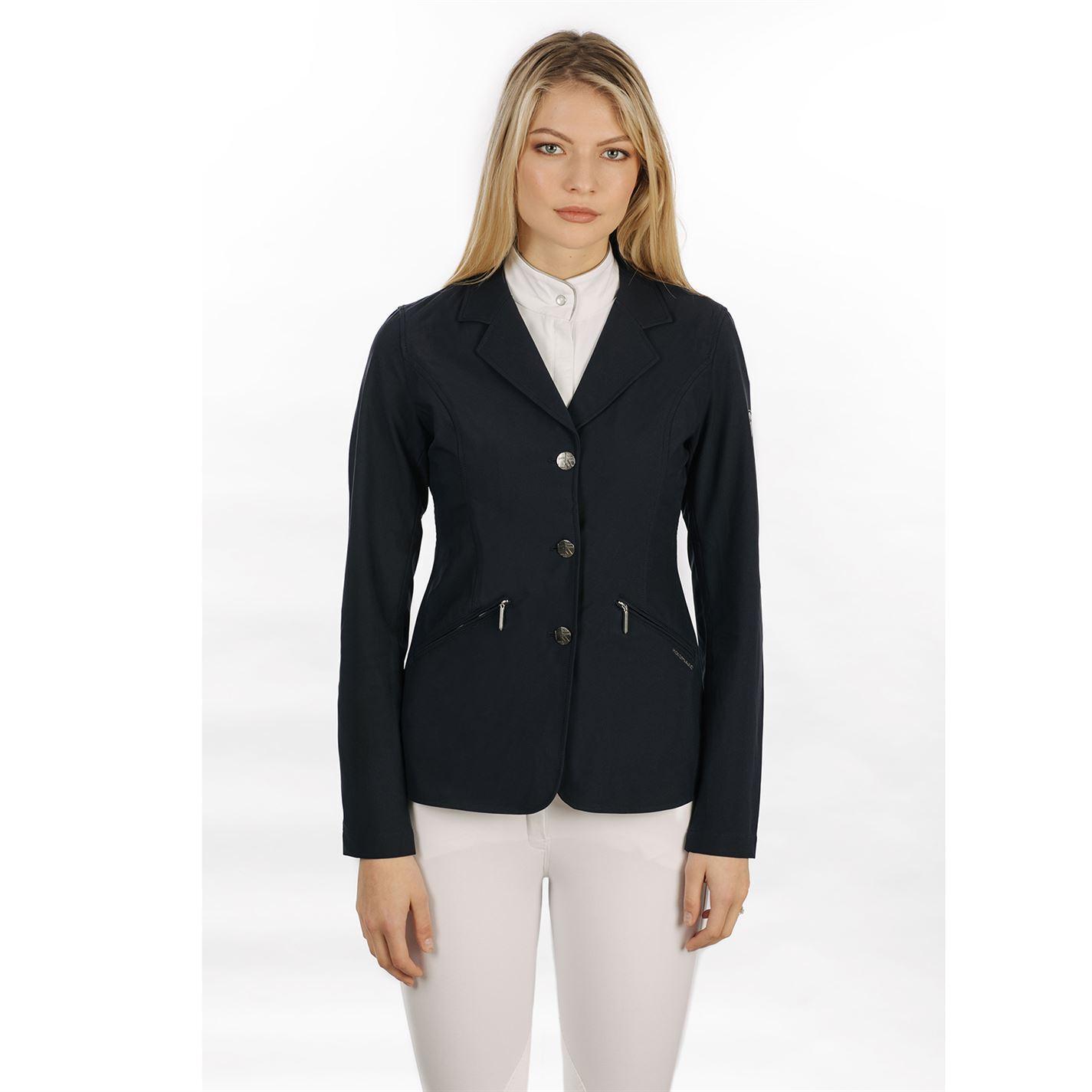 Para mujer Chaqueta de abrigo señoras de la competencia Horseware cierre de botón