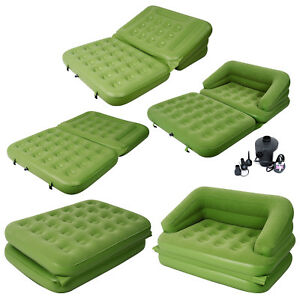 Admirable Details About Jilong 5 In 1 Multi Functional Inflatable Sofa Air Bed Mattress Electric Pump Machost Co Dining Chair Design Ideas Machostcouk
