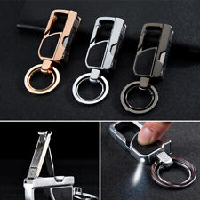 Key Chain Ring With Led Light Keyring Holder Keyfob Fit For All Vehicle Models Fits Kia Soul