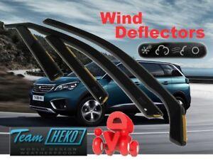 PEUGEOT-5008-II-2017-5-doors-Wind-deflectors-4-pc-HEKO-26158-NEW