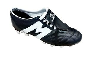 fad80f148c5 Image is loading Soccer-Cleats-Manriquez-Authentic-Leather-Made-in-Mexico-