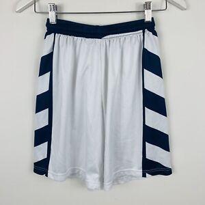Canterbury-Mens-Shorts-Size-30-Made-Australia-Blue-White-Elastic-Waist-Vintage
