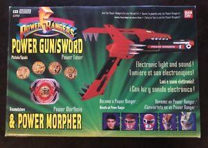 Power Rangers Power Gun Sword Pistola Spada Laser Morpher Bandai - Italia - Power Rangers Power Gun Sword Pistola Spada Laser Morpher Bandai - Italia