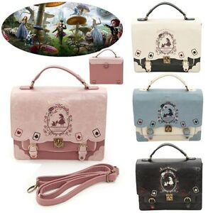 Image Is Loading Uk Alice In Wonderland Handbags Shoulder Bag Backpack