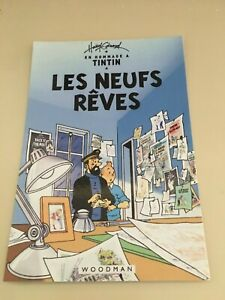 CARTE-POSTALE-TINTIN-collection-elysa-200-EX-HOMMAGE-A-HERGE-PASTICHE
