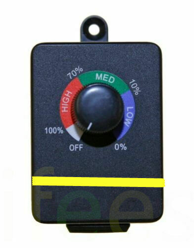 Variable Active Air Duct Booster Fan Speed Controller Hydroponics Inline Exhaust