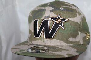 Washington-Wizards-New-Era-NBA-Combo-Camo-9Fifty-Snapback-Hat-Cap-32-NEW