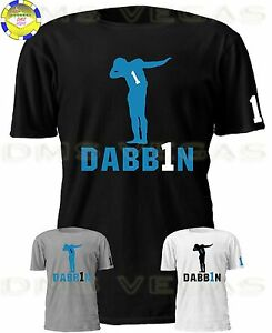 Image is loading Carolina-Panthers-Cam-Newton-Jersey-Shirt-Dabbin-Shadow- bdd2780fe51