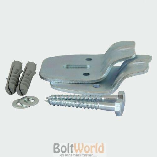Solide mur salle de bain vestiaire en suite WC coin Bassin Évier kits de fixation UK