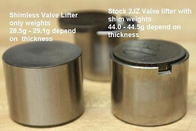 Toyota 1UZ 2UZ 3UZ Solid Shimless Valve Lifter 31mm Diameter (7.70mm - 8.40mm)