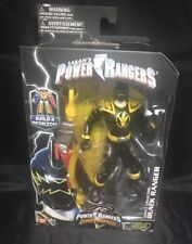 Power Rangers Dino Thunder Legacy Collection 6 Inch Action Figure Black Range