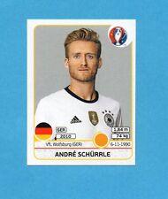 PANINI-EURO 2016-Figurina n.253- SCHURRLE - GERMANIA -NEW BLACK