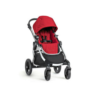 Baby-Jogger-City-Select-Lightweight-Folding-Compact-Customizable-Stroller-Ruby