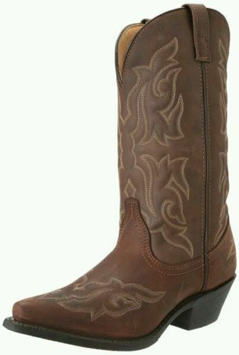 WOMEN'S LAREDO BROWN BROWN BROWN LEATHER WESTERN BOOTS 5404 8703d5