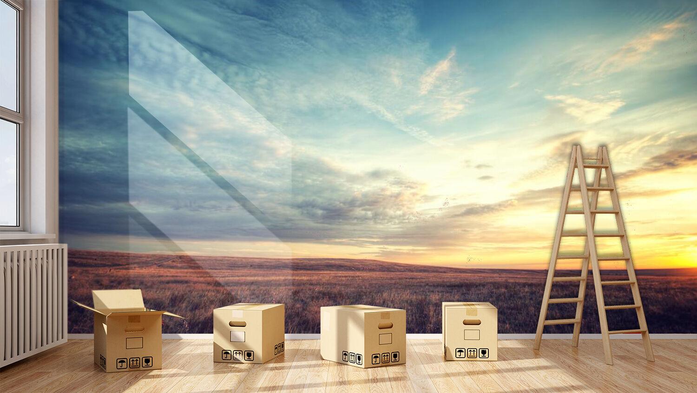 3D Sky Radiate Sunlight 292 Wall Paper Wall Print Decal Wall Deco Indoor Wall