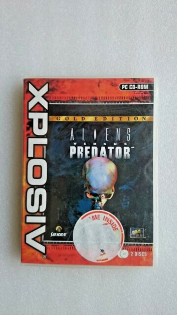 Vintage Alien Versus Predator Gold Edition (PC Windows 2002)