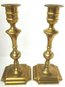 vintage-Brass-Pair-Of-Candlestick-Holders-Made-In-Portugal-24-5cm-high-1-4kg