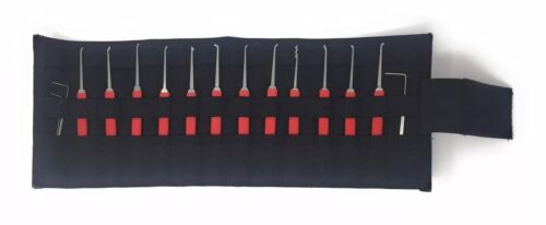 Lock Tool Organizer Roll Up Tool Bag Armorer's Punch Bag Every Day Carry