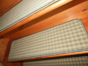 13 U003d Step 9u0027u0027x 30u0027u0027 1 Landing 29u0027u0027 X 30u0027u0027 Tufted Carpet Wool Woven Stair  Treads.