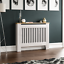 thumbnail 10 - Radiator Cover White Unfinished Modern Traditional Wood Grill Cabinet Furniture