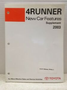 2003 toyota 4runner service manual