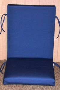1 outdoor patio chair cushion sunbrella 174 true blue
