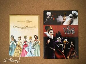 2011-Disney-Designer-Doll-Princess-2012-Villain-Brochure-Pamphlet-Advertisement
