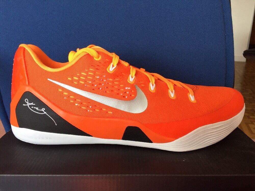 Nike kobe ix 9 okc thunder phoenix suns li new york knicks sz 18 orange syracuse melo