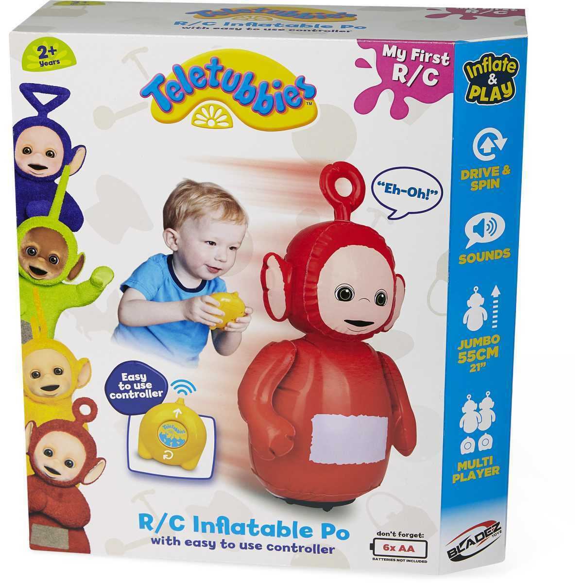 Teletubbies Inflatable rot Po My First Remote Control RC Toy
