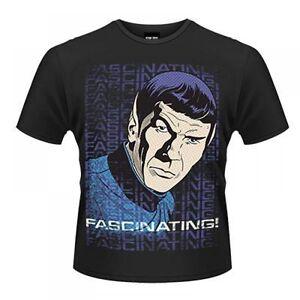 Star-Trek-Spock-Fascinating-Retro-Officially-New-Licensed-Various-Sizes-T-Shirt