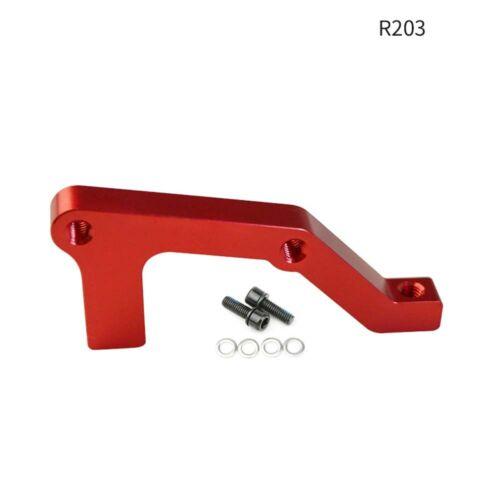 IS Front Rear 180//203mm Caliper Disc Brake MTB Bike Brake Adapter Rotors