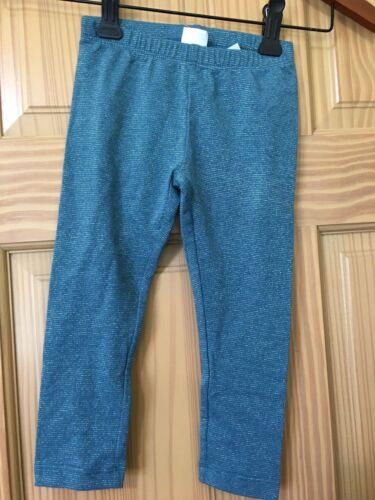 NWT Gymboree Sparkle Leggings Girls Toddler girls Ready Jet Go Teal 2T,3T,5T