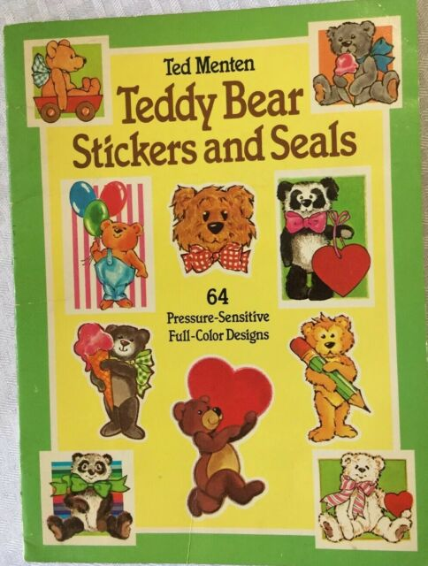 Teddy Bear Stickers and Seals by Theodore Menten