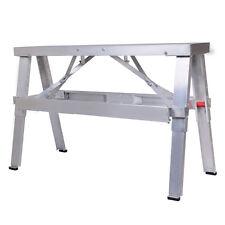 "New Aluminum Heavy Duty Drywall Walk-Up Adjustable 18""-30"" Folding Bench"