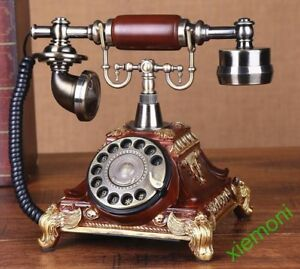 UK Vintage Antique Phone Old Fashioned Retro Handset Old