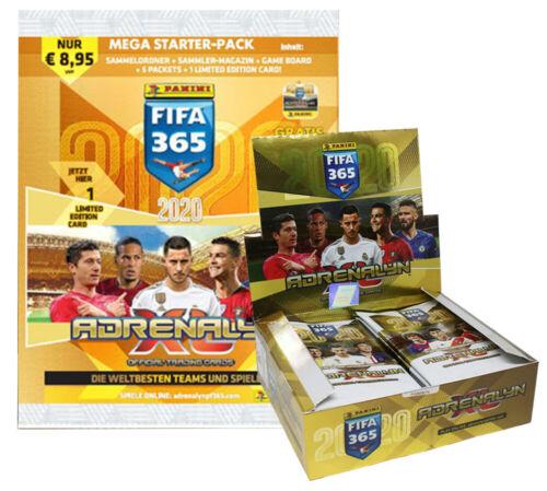 Panini Fifa 365 2020-1 Starter 24 Booster 1 Display
