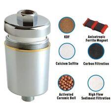 Filtre pour douche et bain 6 étapes de filtration réduction du chlore