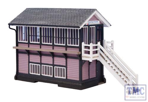 44-0074 OO Gauge Scenecraft Downham Market Signal Box