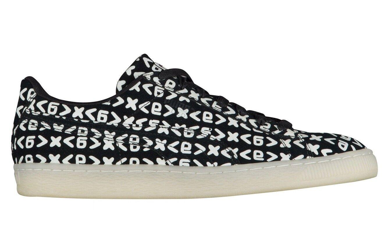 Nueva Marca Puma Gamuza Clásico Zamunda Negro blancoo 355452-01 para hombres zapatos