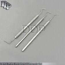 Dental Probe 6 Periodontal Diagnostic Probe 23 Explorer Hook Tartar Remover Tool